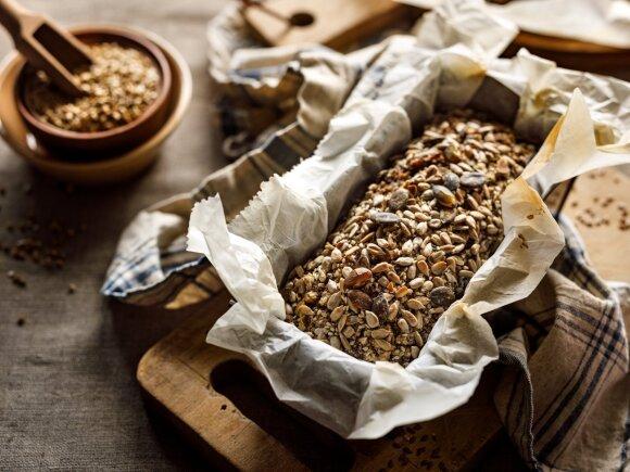 Naminė grikių duona
