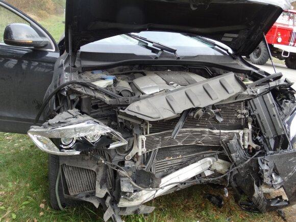 Tragiška avarija kelyje Naujieji Valkininkai – Daugai – Alytus