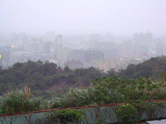 Smogas virš Taivano
