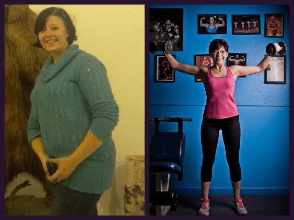 Gyvenimo būdą pakeitusi Eglė: minus 40 kg plius puiki savijauta