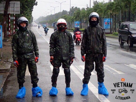 Kelionė motociklu Vietname