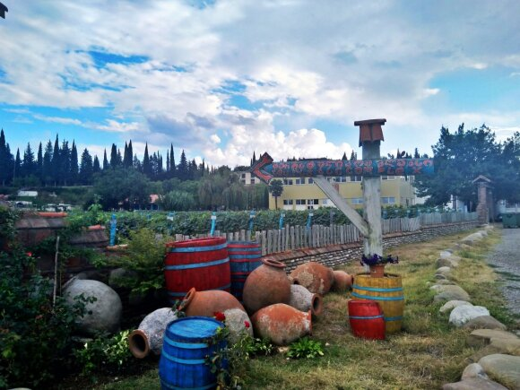 Didesnė vyno darykla, kuri produkciją jau tiekia prekybai į kitas šalis