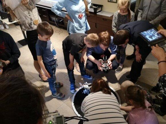 Unikali mentorystės programa skatina vaikus siekti daugiau
