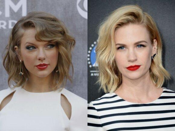 Taylor Swift,  January Jones