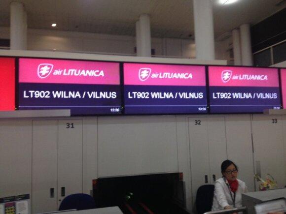Iš Getviko oro uosto keleiviai skraidinami į <em>Wilna</em>