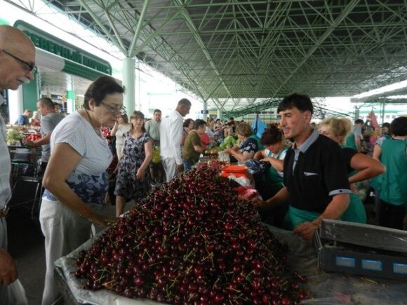 Зеленый рынок Тирасполя
