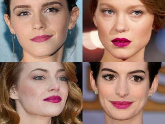 Emma Watson, Lea Seydoux, Emma Stone, Anne Hathaway