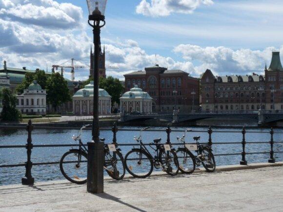 Stokholmo pakrantė. Auros Mažuolytės nuotr.