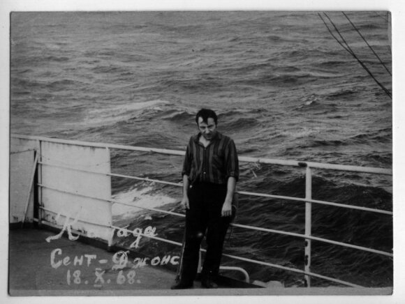 Jūroje. V. Pozniako nuotr.