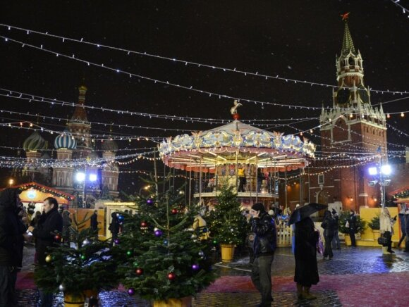 Kalėdinė mugė Maskvoje