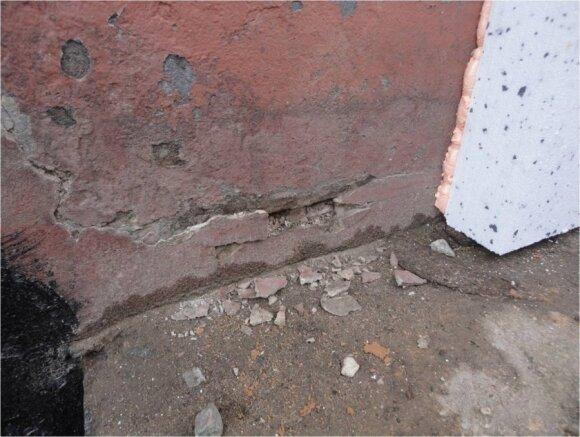 Neišlyginta siena / BETA nuotr.