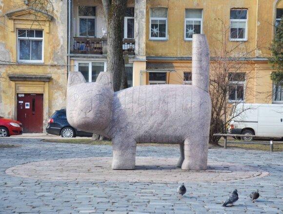 """Katinas // """"Neakivaizdinis Vilnius"""" nuotr."""