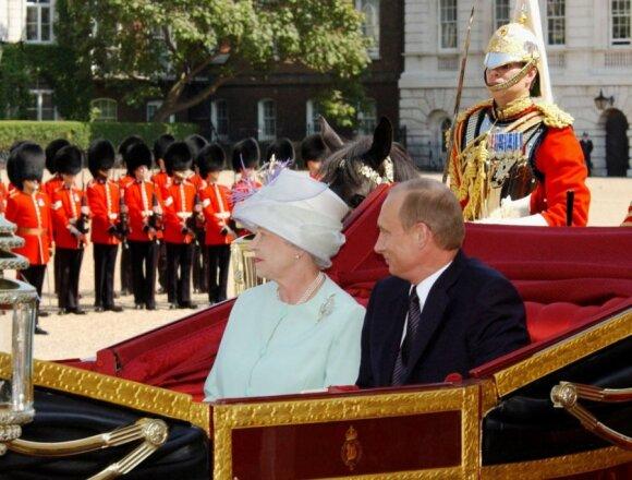 Karalienė Elizabeth II, Vladimiras Putinas