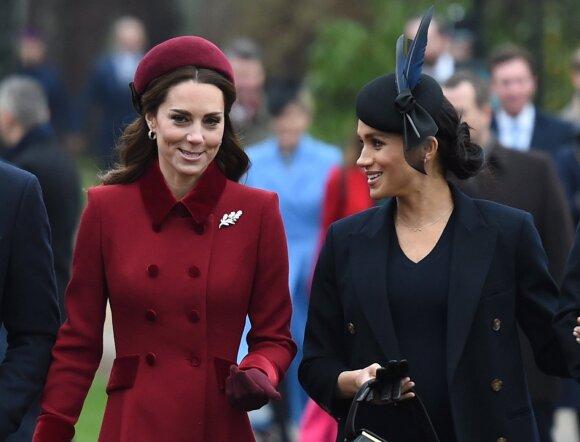 Kate Middleton ir Meghan Markle