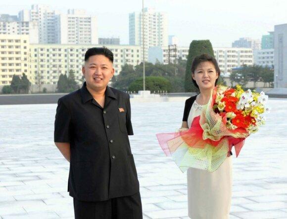 Ri Sol Ju (Li Sol Džu), Kim Jong Unas (Kim Čen Unas)