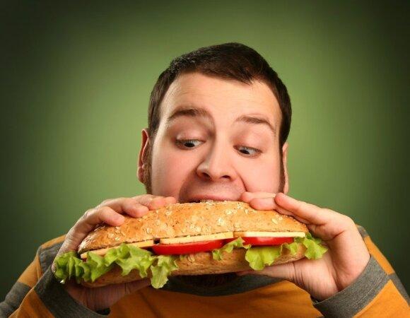 Nuolat persivalgote? Nekaltinkite savęs, esate gudrių gamintojų triukų auka