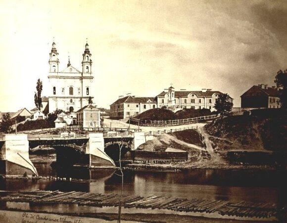 Зеленый мост в 1874 г.