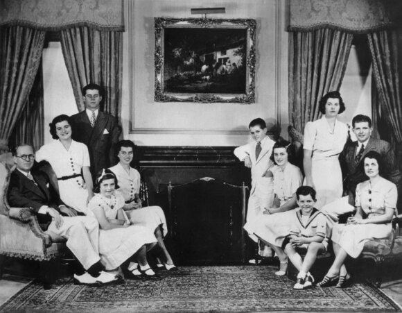 Rose ir Josepho P. Kennedy šeima