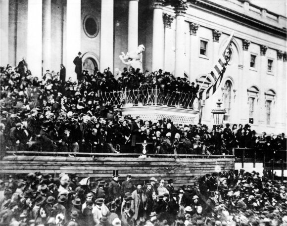Abrahamo Lincolno inauguracijos ceremonija