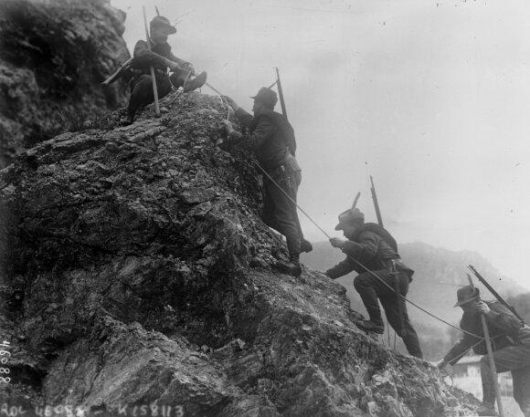 Alpių frontas, 1 pasaulinis karas