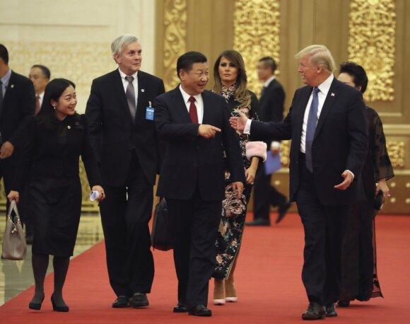 Donald Trump, Xi Jingping