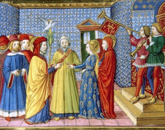 Vedybos viduramžiais