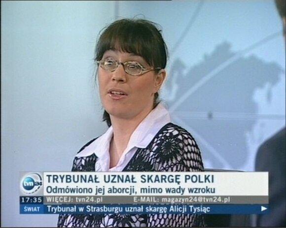 Alicja Tysiąc. tvn24.pl