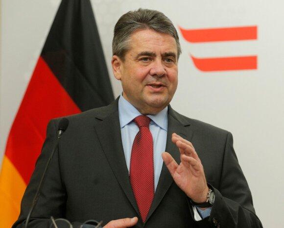Vokietijos užsienio reikalų ministras Sigmaras Gabrielis