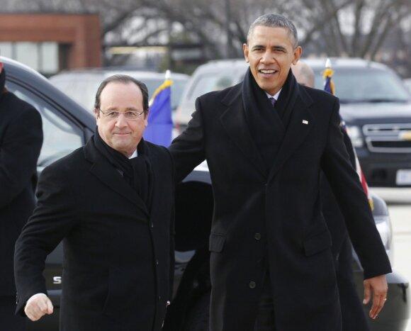 Francois Hollande'as, Barackas Obama