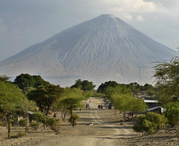 Ol Doinyo Lengai: vėsiausias ugnikalnis Žemėje