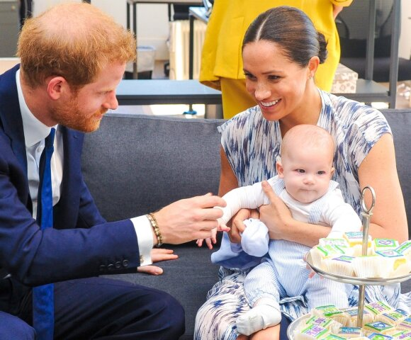 Princas Harry ir Meghan Markle su sūnumi Archie