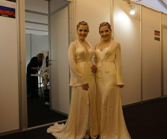 """Rusijos atstovės pristatė Beyonce pamėgtos dizainerės """"Eurovizijai"""" kurtas sukneles"""
