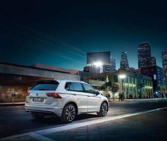 """""""Volkswagen Tiguan"""" SUV modelis"""