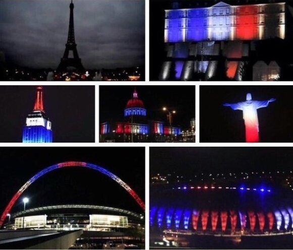 Pasaulis palaiko Prancūziją