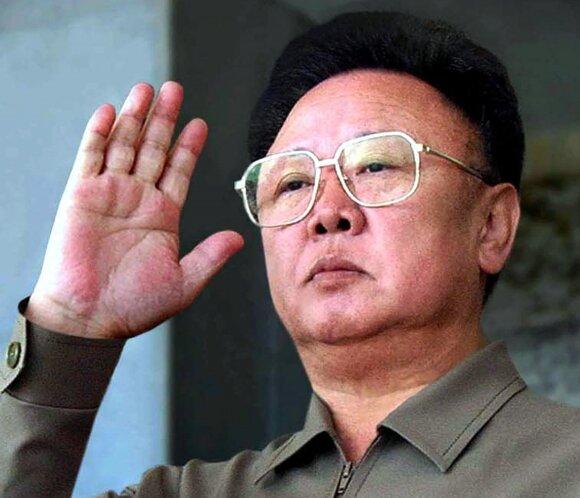 Mirė Šiaurės Korėjos lyderis Kim Jong-ilas (Kim Čen Iras)