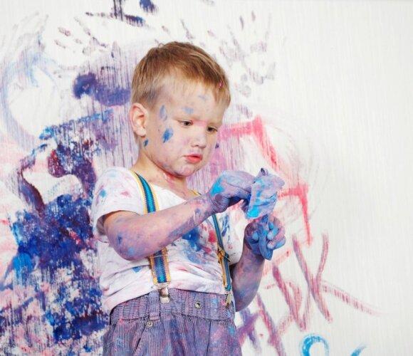10 patarimų, kaip užauginti kūrybingą vaiką