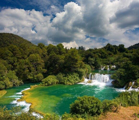 Krkos parkas Kroatijoje