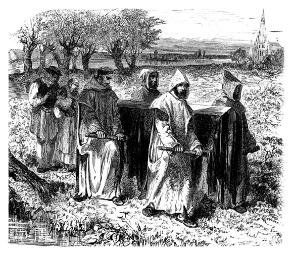 Juodoji mirtis XIV a. Europoje
