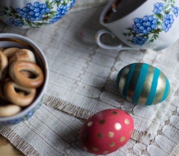 6 originalūs būdai dažyti velykinius kiaušinius