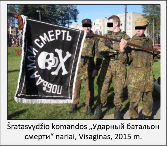 """VSD: Visagine susiformavo """"Smogiamasis mirties batalionas"""""""