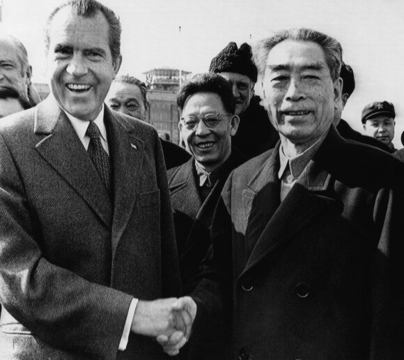 Richardas Nixonas, Zhou Enlai