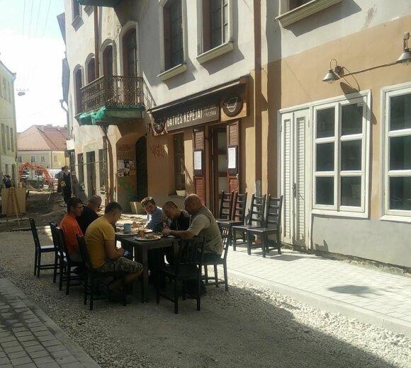 Restoranas tvarkomoje Savičiaus gatvėje