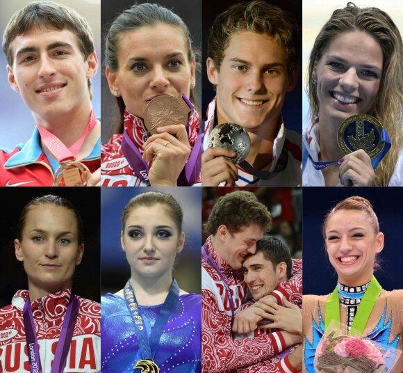 Oficialu: Rusijos vėliava Rio plazdės, bet J. Jefimova išmesta už borto