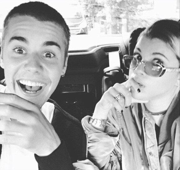 Justin Bieber ir Sofia Richie
