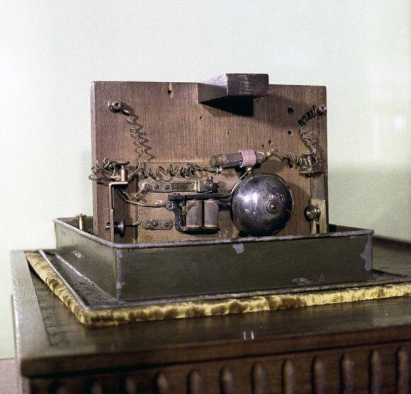 Aleksandro Popovo sukonstruotas radijo imtuvas