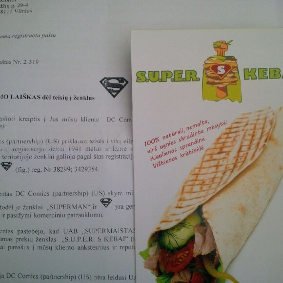 Kebabinės prekės ženklas
