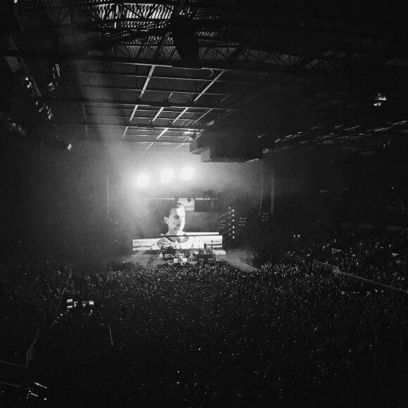 """Depeche Mode"" koncerto Rygoje akimirka"