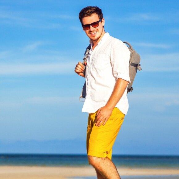 Vyriškų šortų mados: kokius rinktis?