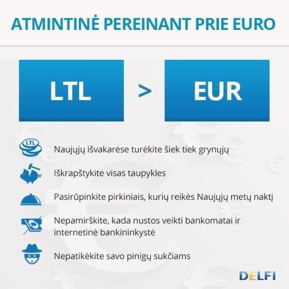 Euras jau čia pat: pasitikrinkite, ar nieko nepamiršote
