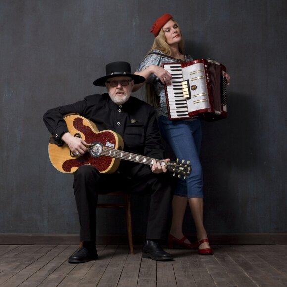 Virgis Stakėnas su žmona Ramute Stakėniene